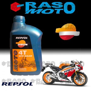 Olio motore 10W40 Repsol Fully Synthetic 1L