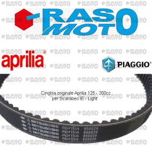 Cinghia originale Aprilia 125 - 200cc per Scarabeo iE - Light
