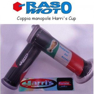 Coppia manopole Harri's Road CUP Italia